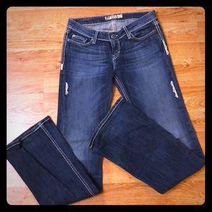 "BKE Sabrina Jeans 27"" XLong"